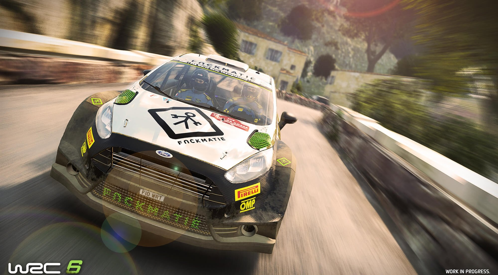 WRC 6 / World Racing Championship 6 (2017) PC - Скриншот 3