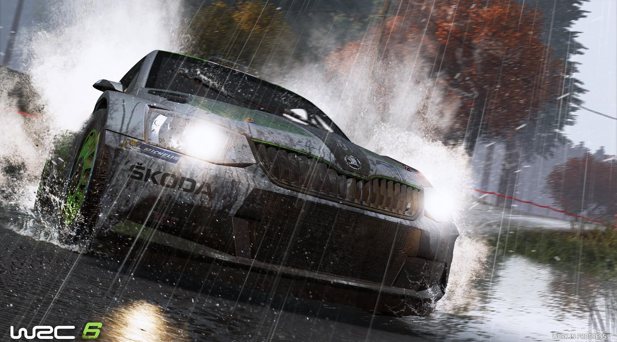 WRC 6 / World Racing Championship 6 (2017) PC - Скриншот 2