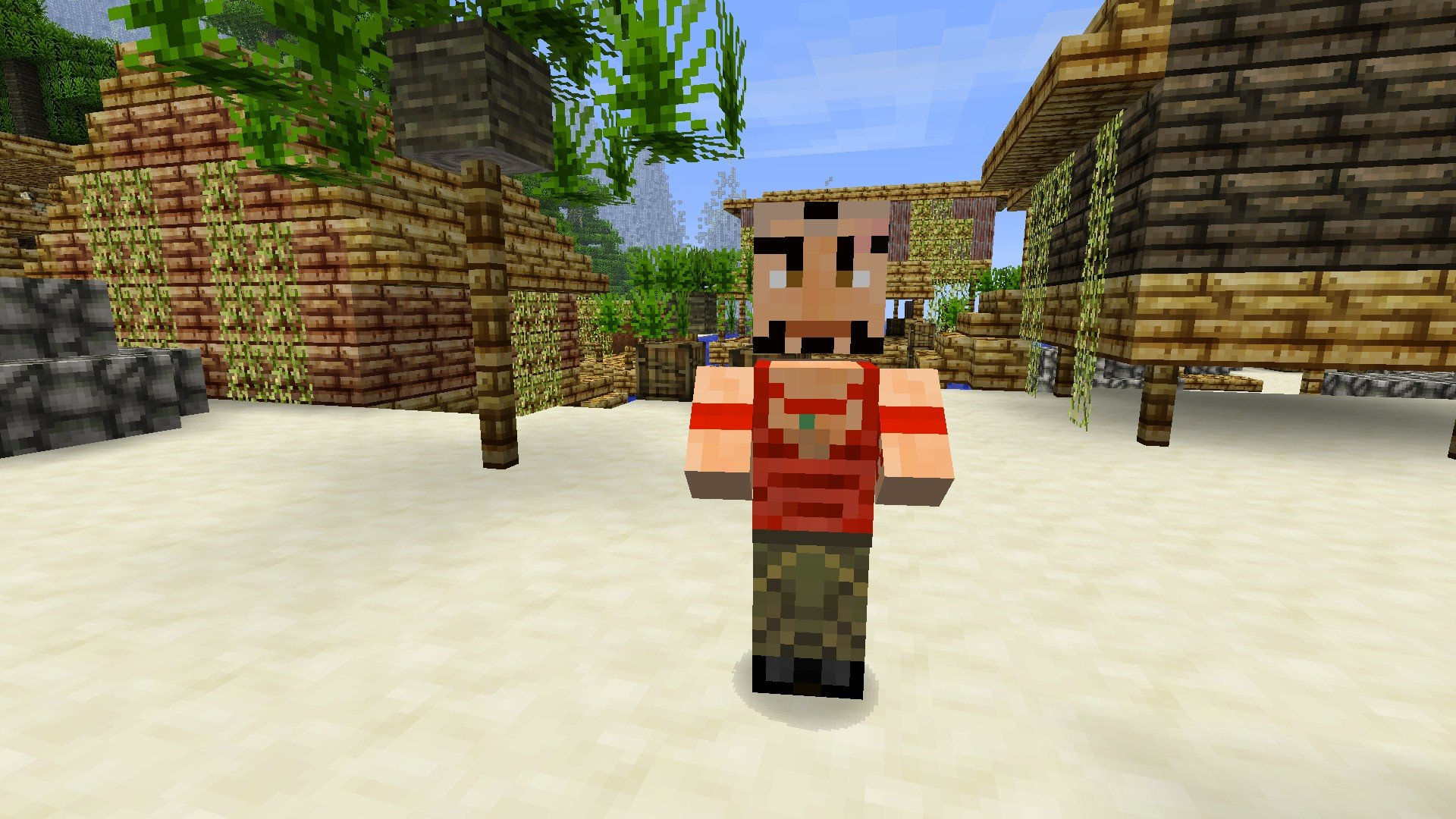 Мод на девушку для Minecraft PE 0.8.1 » Скачать моды для ...