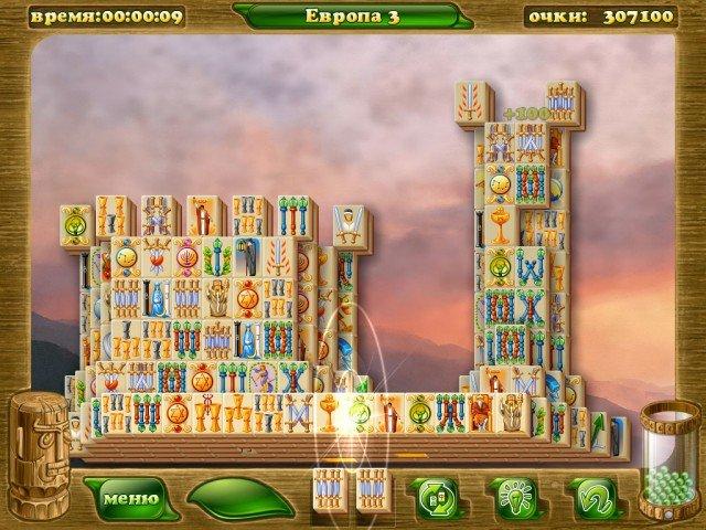 Mahjongg Artifacts 2. Скриншоты.