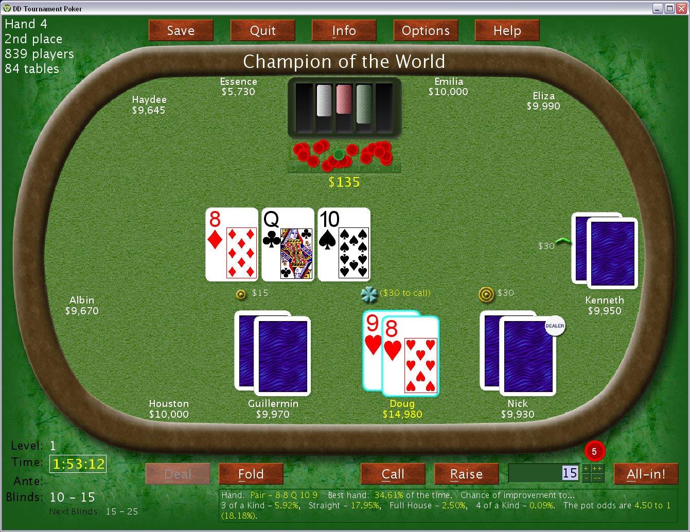 $1 $2 no limit holdem casino bearskin diner wyandotte casino