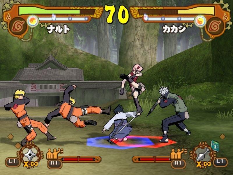 Naruto shippuuden: ultimate ninja 4 (ps2)