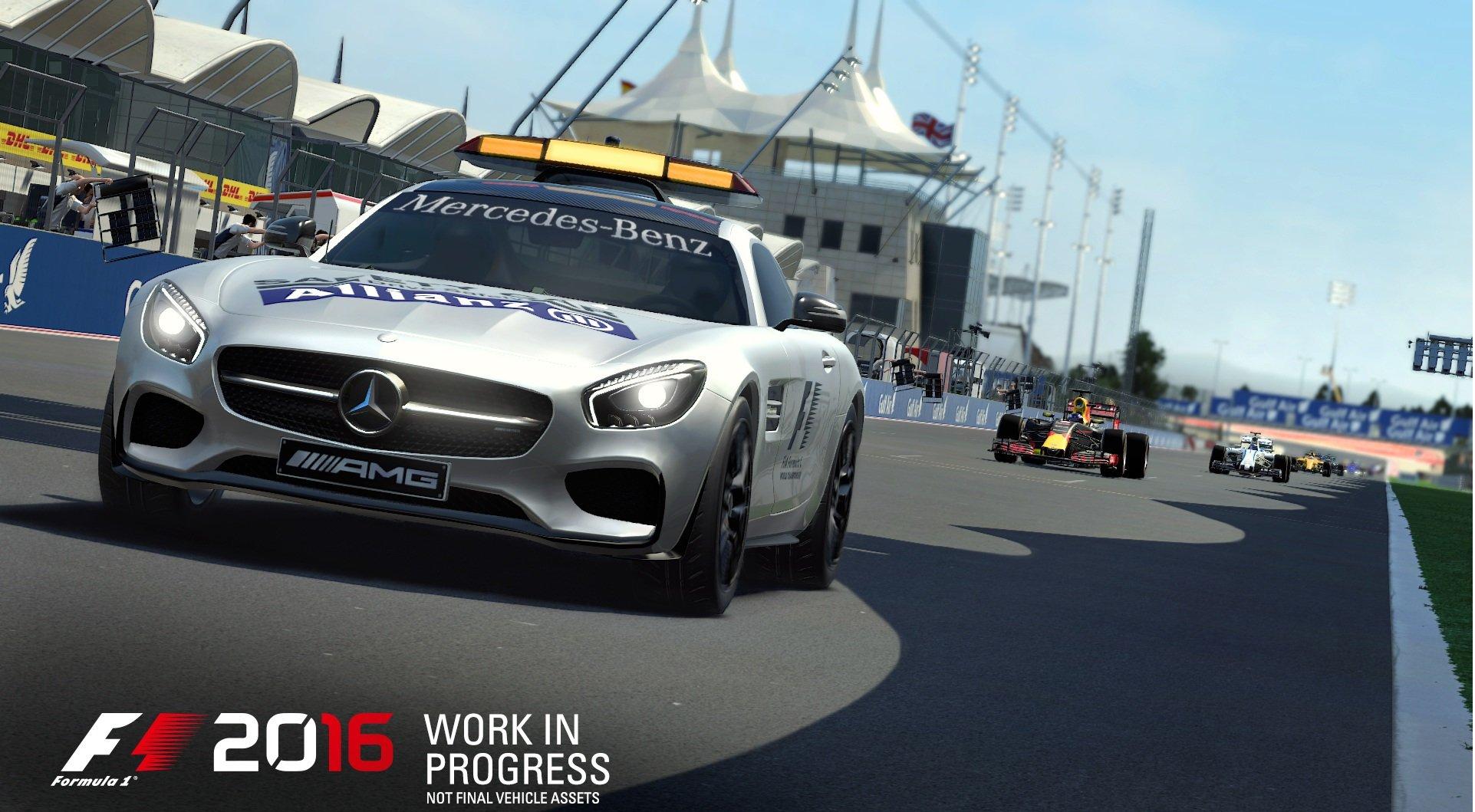 F1 2016 (2016) PC - Скриншот 1