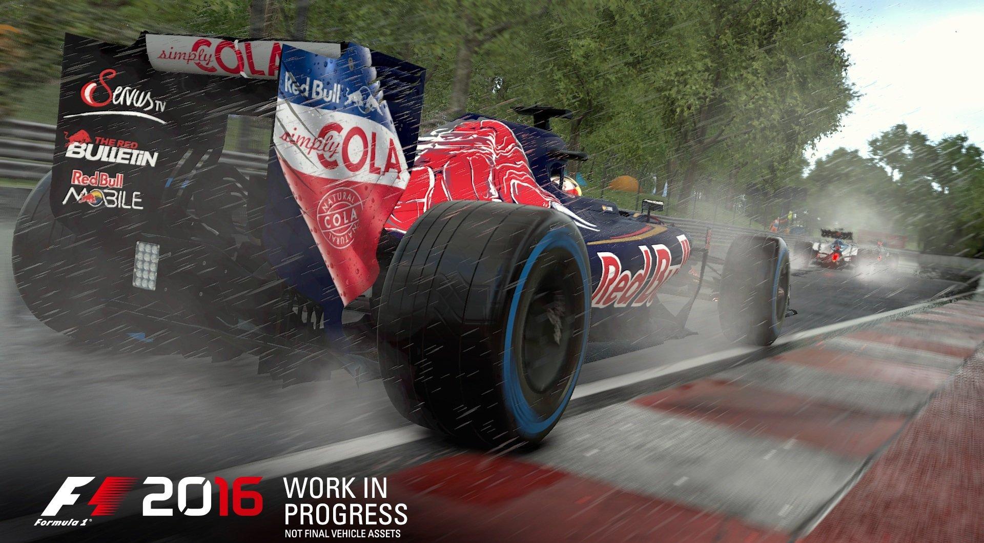 F1 2016 (2016) PC - Скриншот 3