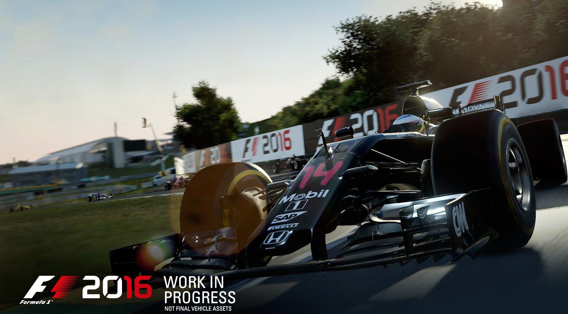 F1 2016 (2016) PC - Скриншот 2