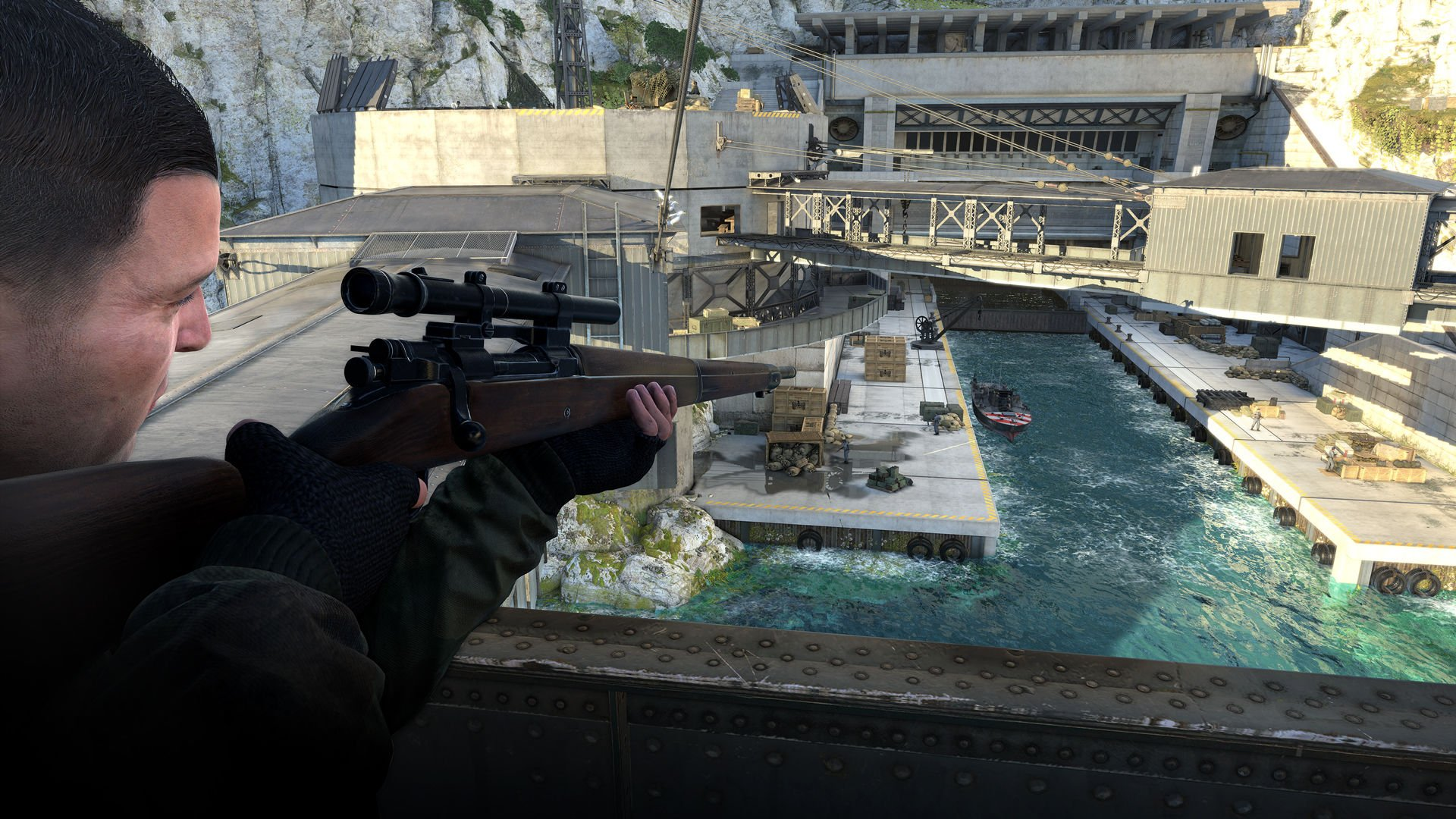 Sniper Elite 4 (2017) PC - Скриншот 3