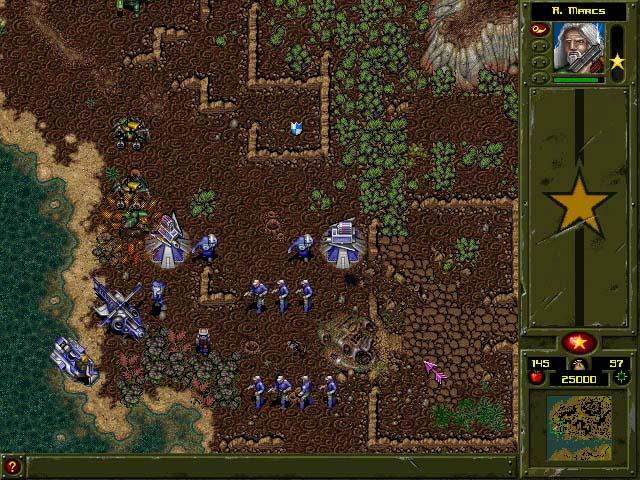 War wind ii: human onslaught pc games image 2/10, dreamforge entertainment, inc, strategic simulations inc