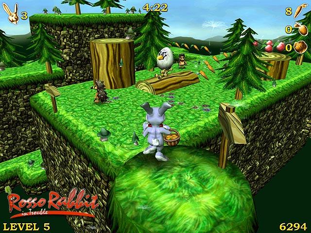 скачать игру rosso rabbit