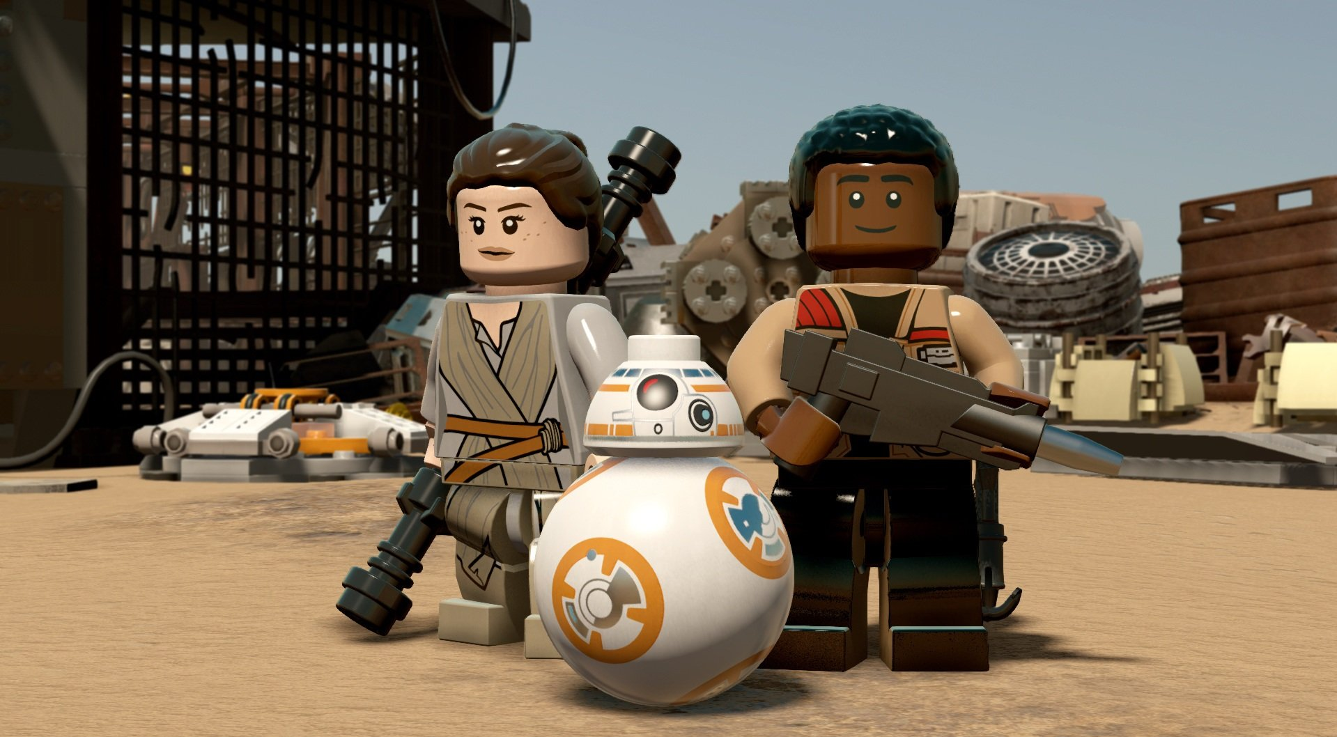 LEGO Star Wars: The Force Awakens (2016) PC - Скриншот 1