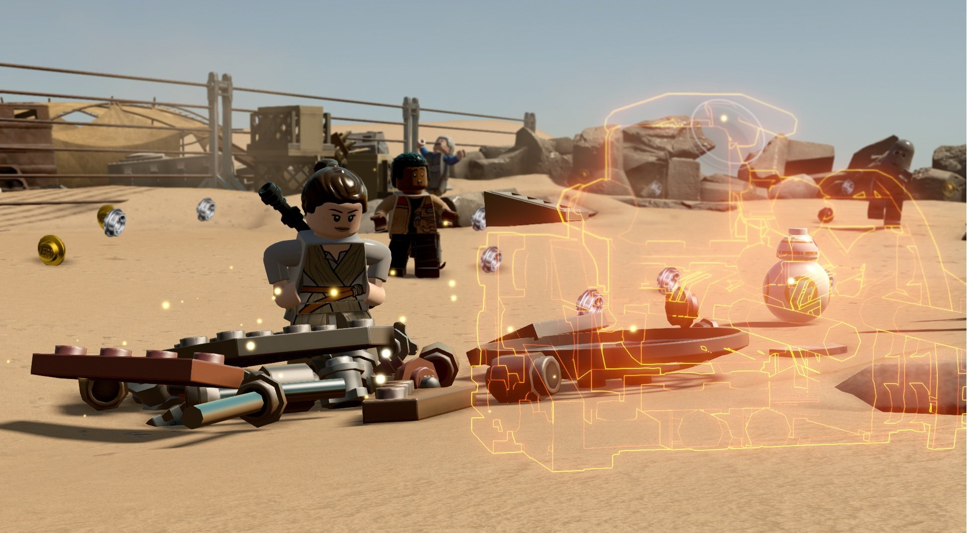 LEGO Star Wars: The Force Awakens (2016) PC - Скриншот 3