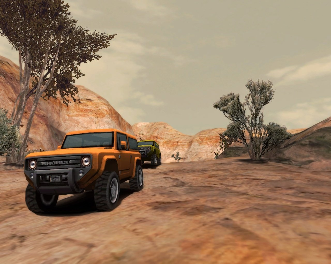 Off-road drive, simulaci0f3n de carreras off-road para pc