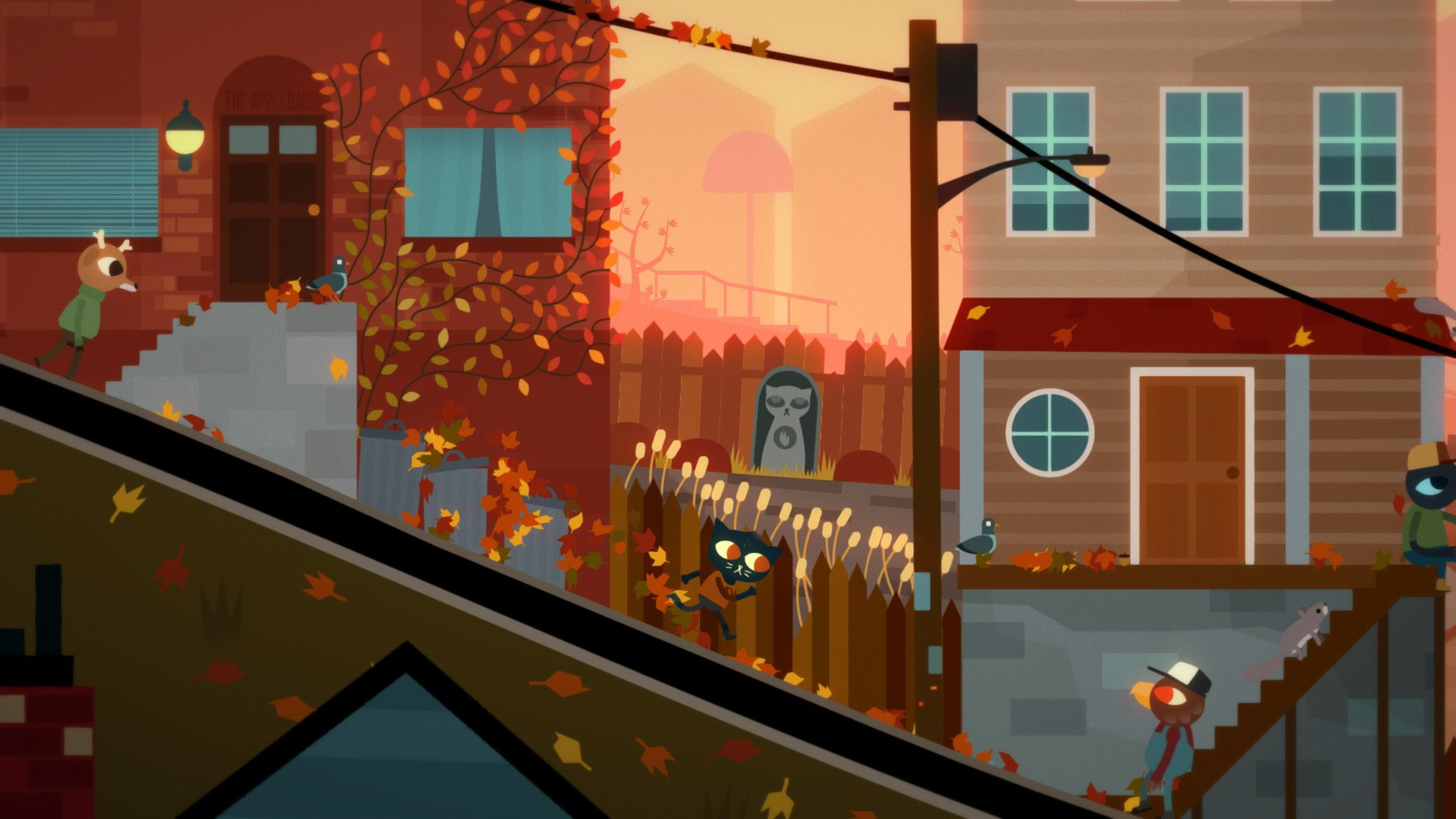 Night in The Woods (2017) PC - Скриншот 1