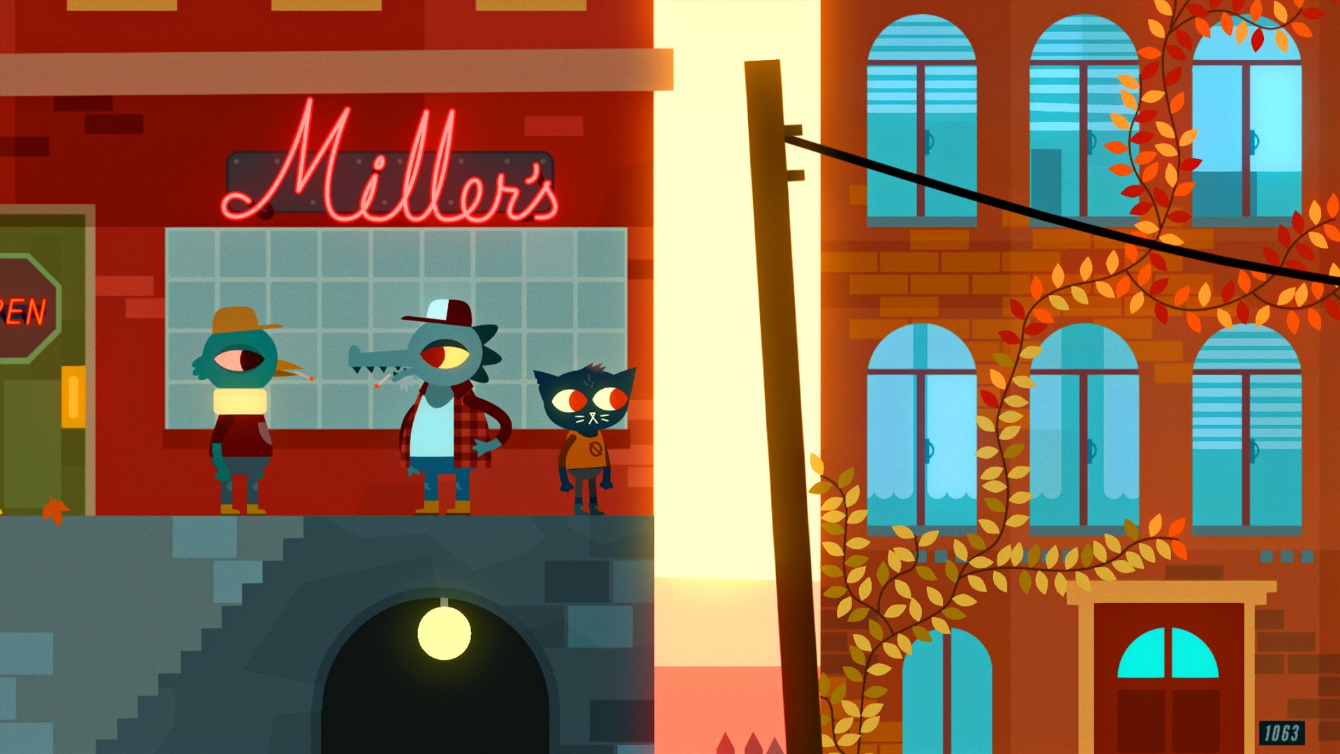 Night in The Woods (2017) PC - Скриншот 2