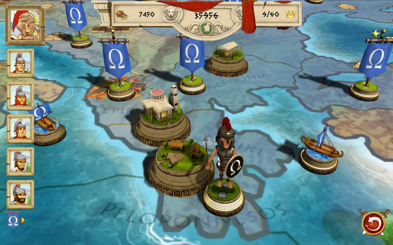 Successor of old school games, genesia legacy is a challenging and punitive turn-based strategy game