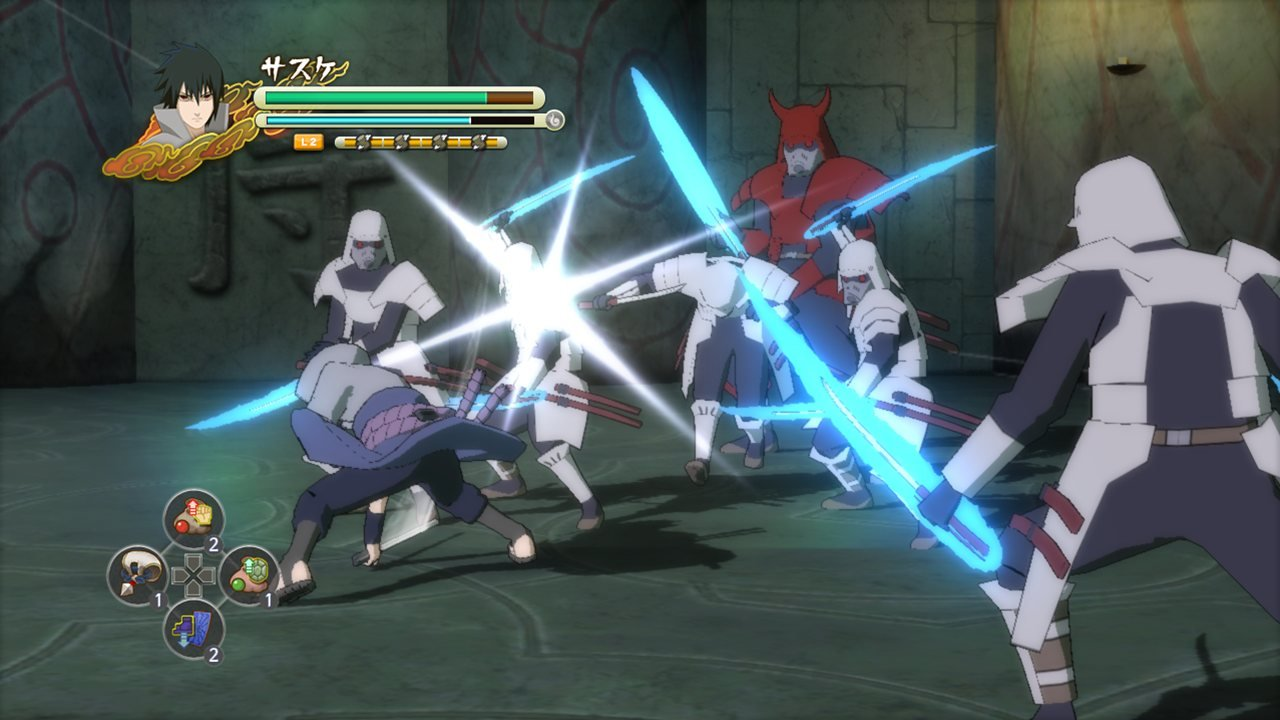 Галерея - naruto shippuden: ultimate ninja impact - square faction