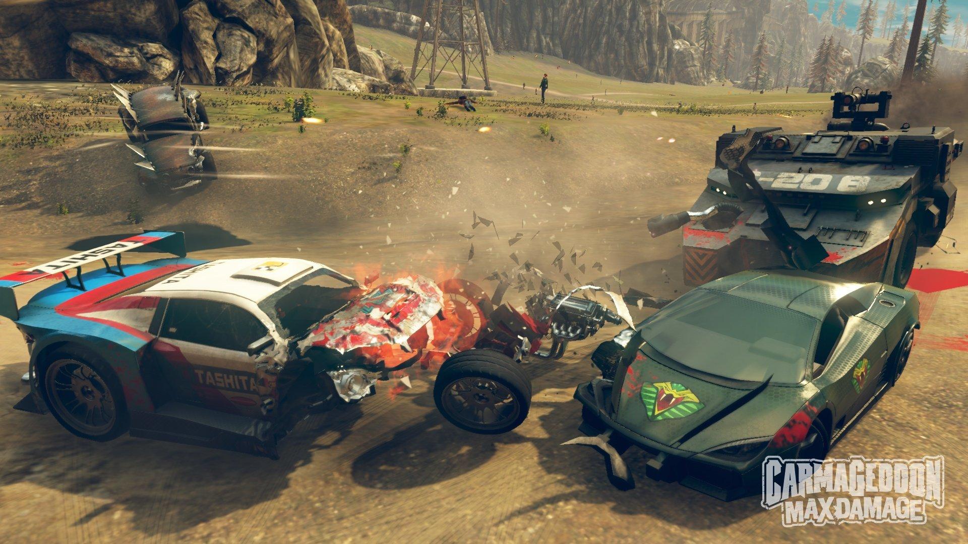 Carmageddon: Max Damage (2016) PC - Скриншот 1