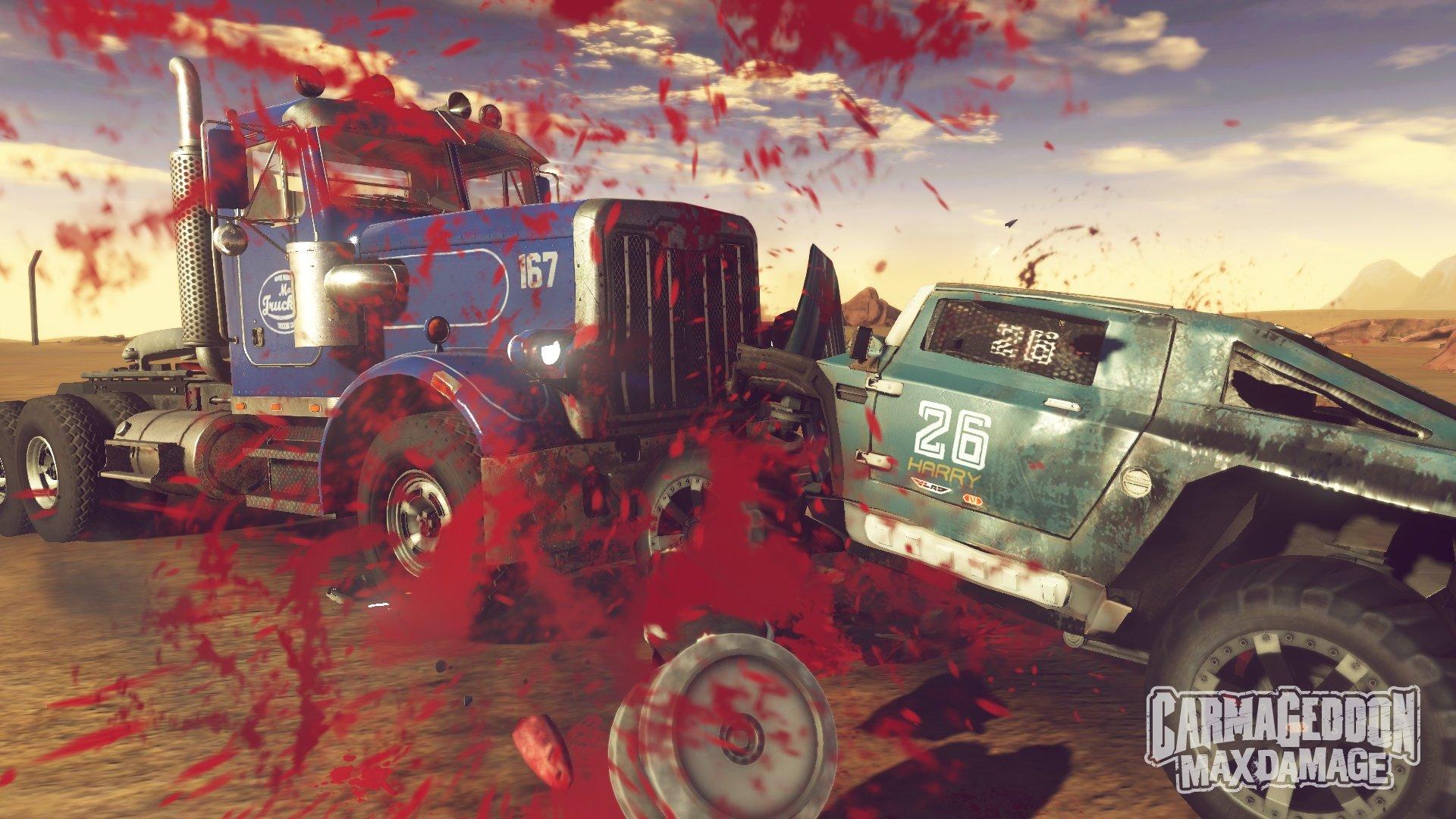 Carmageddon: Max Damage (2016) PC - Скриншот 2