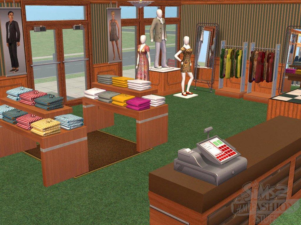 The Sims 2 H&M Fashion Stuff - скриншоты и фото игры The Sims 2 H&M Fashion Stuff, графика игры. Канобу