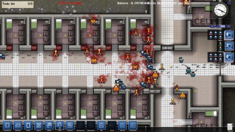Prison architect как сделать бунт
