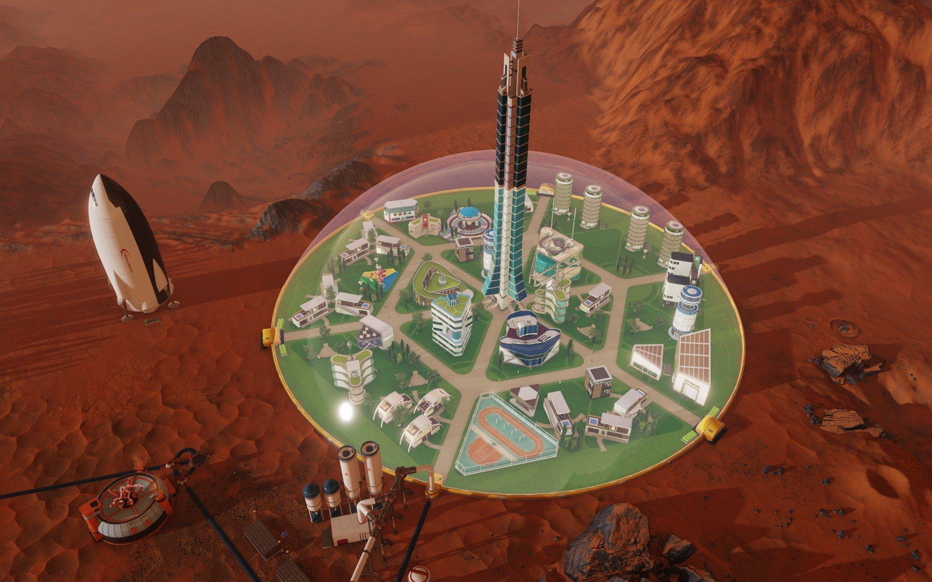 Surviving Mars (2018) PC - Скриншот 2
