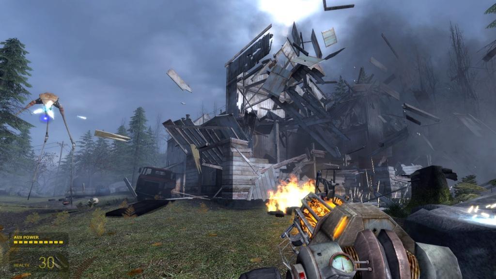 скачать игру Half Life 2 часть 2 - фото 5