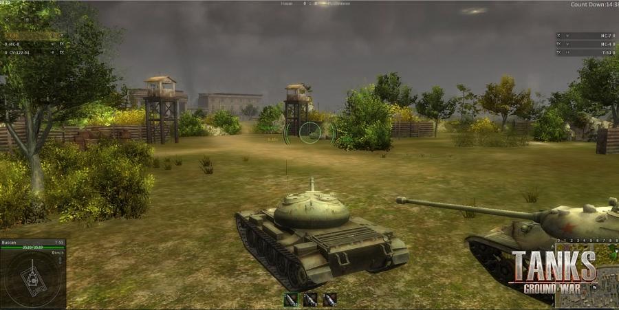 скачать игру Ground War Tanks через торрент - фото 2