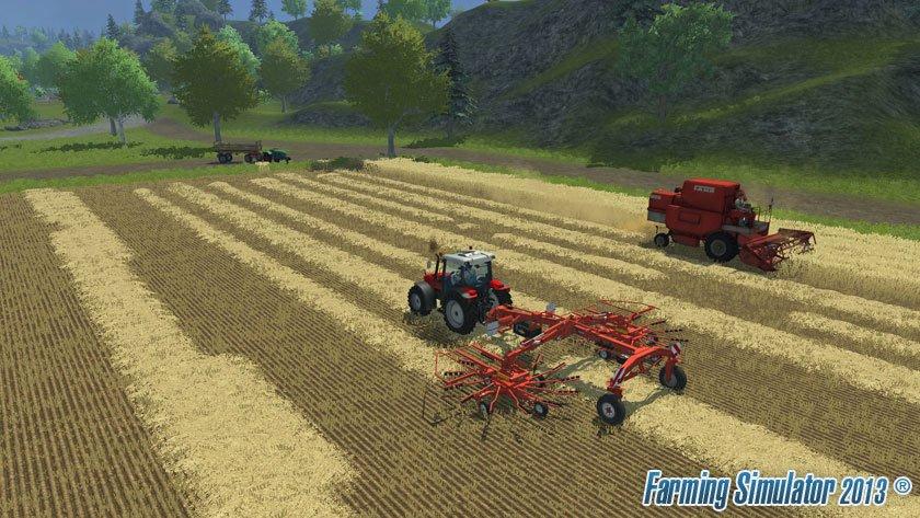 скачать игру ферма Farming Simulator 2013 - фото 3