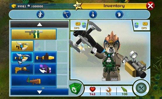 Игра лего чимацыклы онлайн о