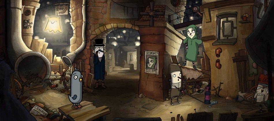 The Inner World - скриншоты и фото игры The Inner World, графика игры. Канобу