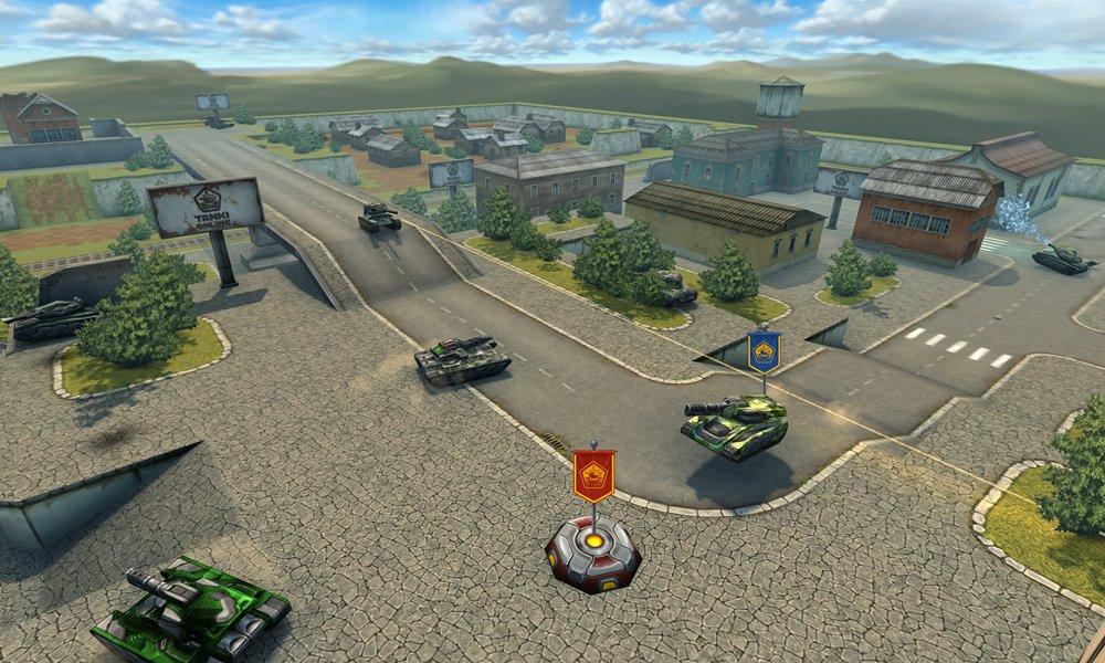 Играть онлайн танки без