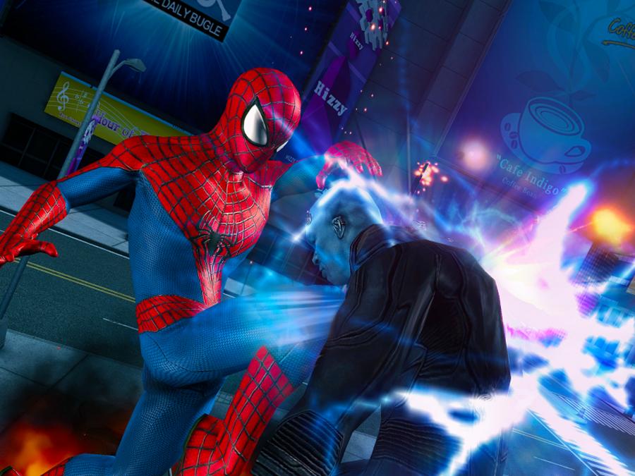Скачать на андроид игру совершенный человек паук