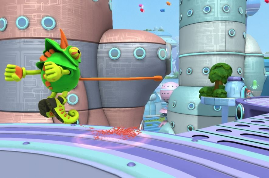 Pac-man world 3 review, preview, screenshots, movies, trailers, downloads for playstation 2 (ps2)