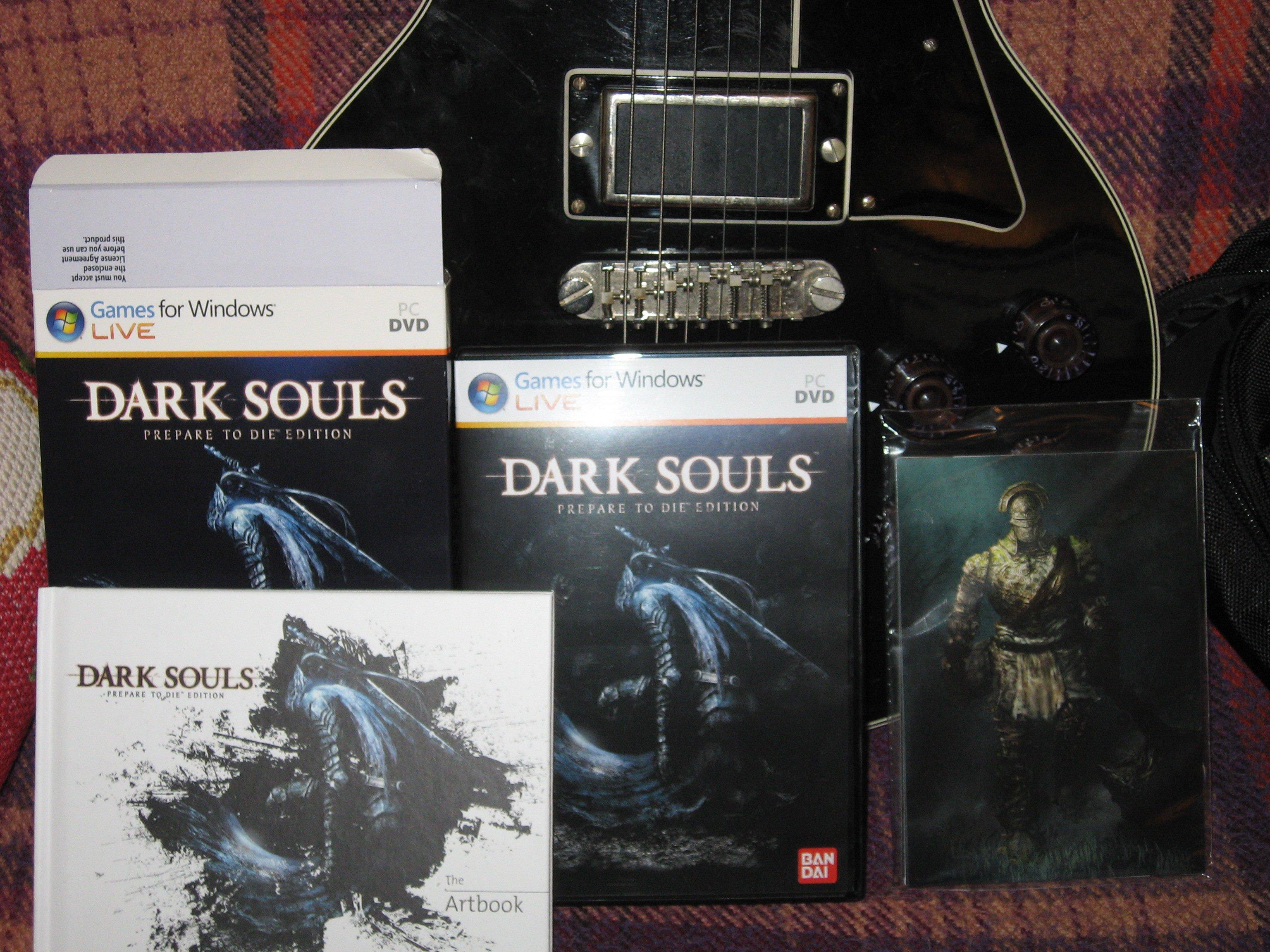 ДААААААААААА! Пришла моя любимейшая игра этого поколения консолей! Приключение начинается вновь)) #darksouls - Изображение 1