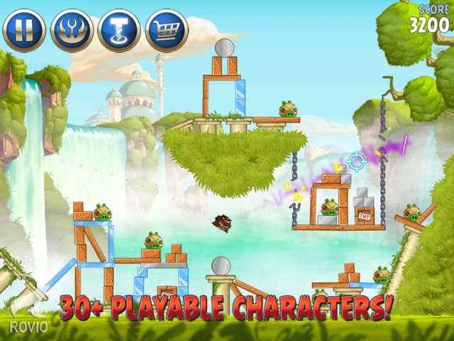 Скриншоты вышедшей PC-версии Angry Birds: Star Wars II. - Изображение 3