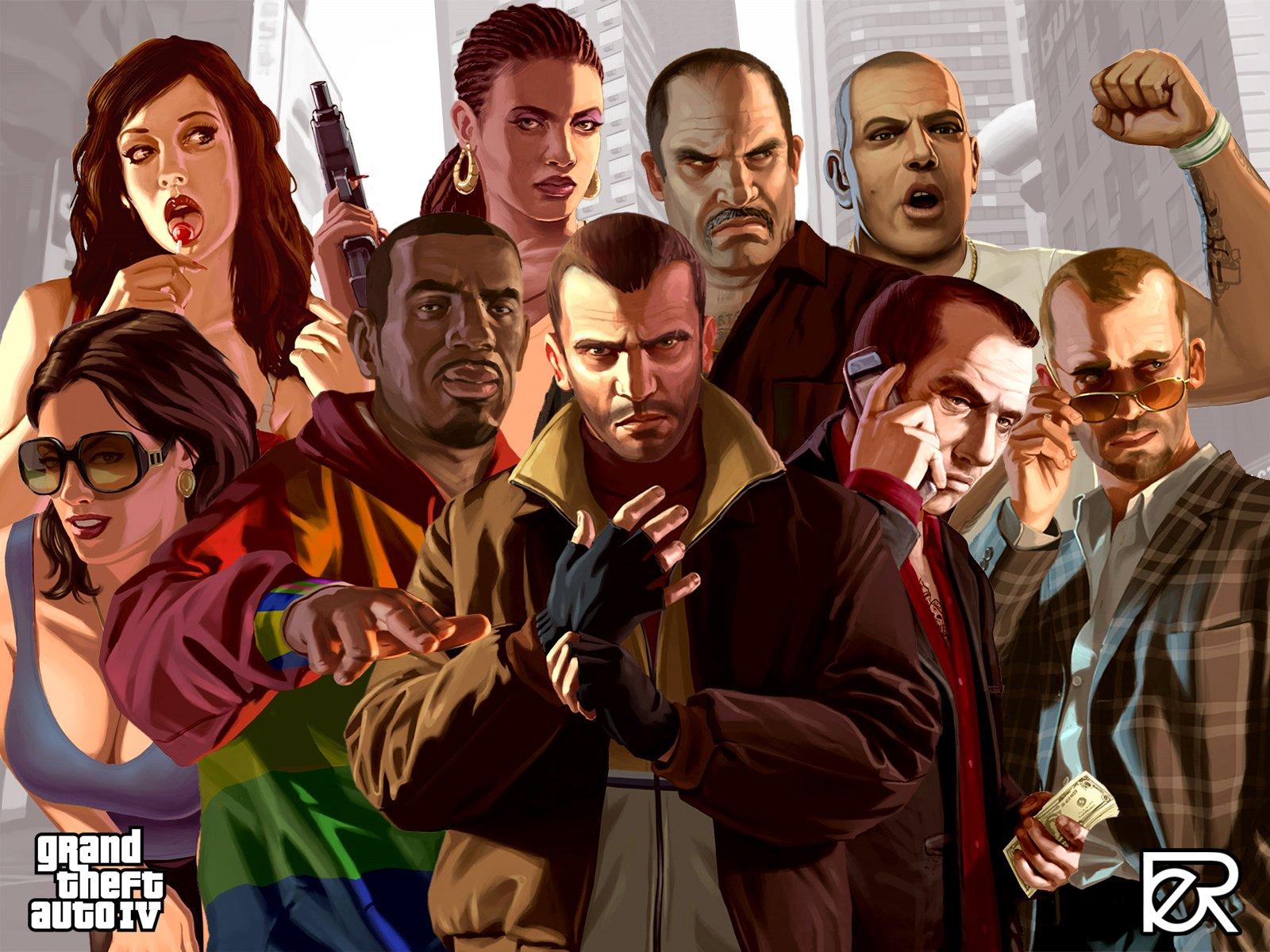 Добрые наши канобувцы!:) Предлагаю вам зарубиться в мультиплеер GTA 4! Согласны? тогда свой стим в комменты и вопрос ... - Изображение 1