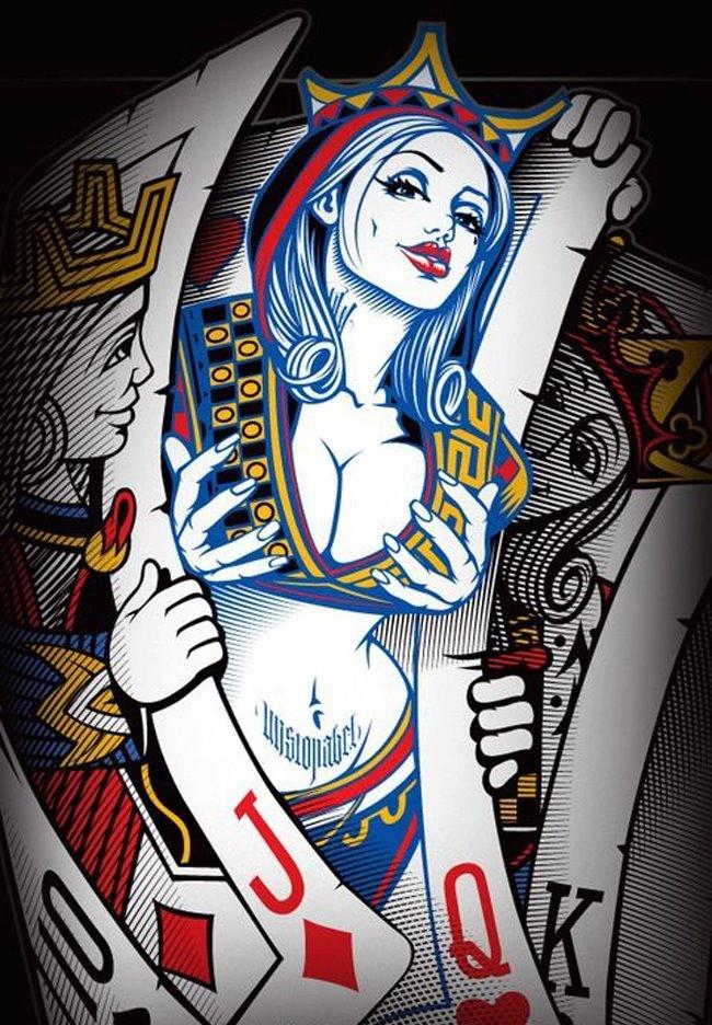Я люблю бывает играть в карты...) - Изображение 1