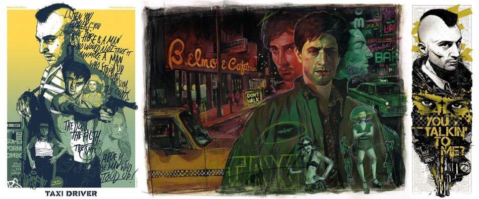Один из любимых фильмов с Робертом Де Ниро это Таксист, тут он молодой и амбициозный, в образе панка бесподобен. - Изображение 1