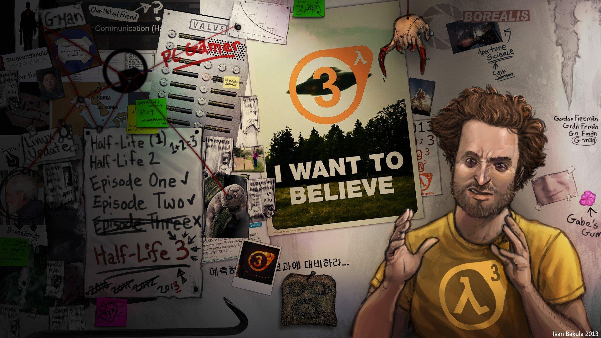 """Каждый, кто заявляет что """"Half-Life 3 Confirmed!""""#HL3 #паранойя  - Изображение 1"""