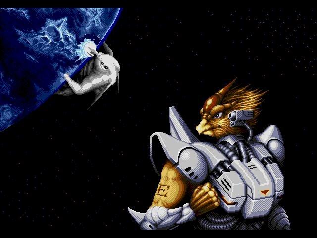 """Уже в который раз, прочищая ромсет для Sega Mega Drive, наткнулась на шикарную вещь. """"Alien Soldier"""", искомая """"вещь"""" ... - Изображение 1"""