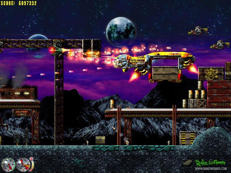 Решил поиграть в  Jets'n'Guns, я же самый умный - поставил хард. Уже 2 часа не могу пройти 3 уровень. - Изображение 2