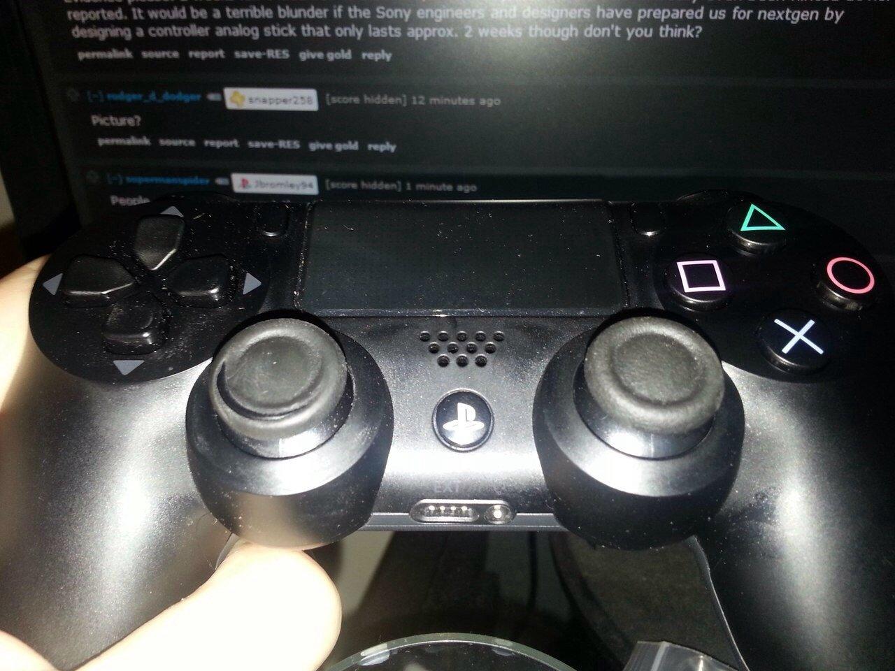 Небольшие проблемы Dualshock 4  На Neogaf появился топик, посвященный проблеме Dualshock 4, связанной с тем, что рез ... - Изображение 1
