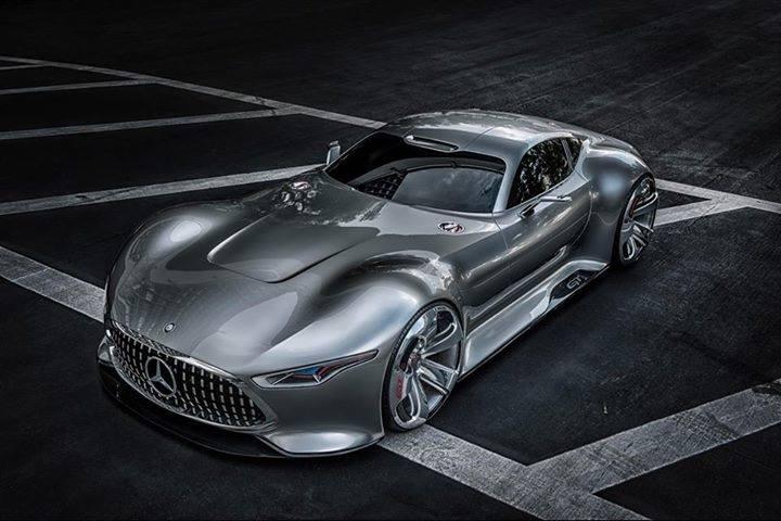 Дизайнеры Mercedes-Benz представили новый концепт спорткара Mercedes-Benz AMG Vision Gran Turismo для гонок Gran Tur ... - Изображение 1