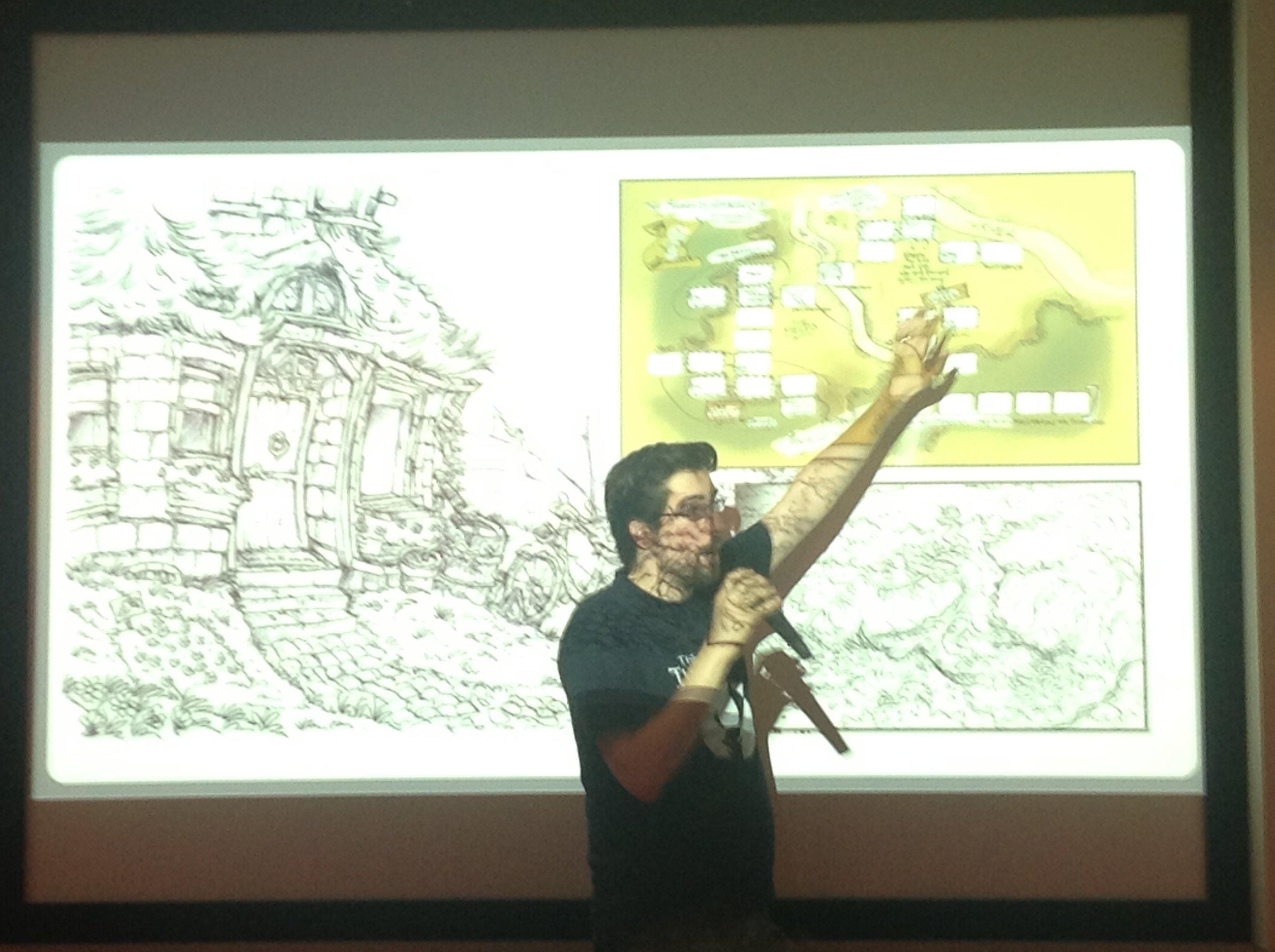 Сегодня в Киеве прошёл мастер-класс по разработке квестов от гейм-дизайнера/продюссера Матиаса Кемпке, который с пом ... - Изображение 1