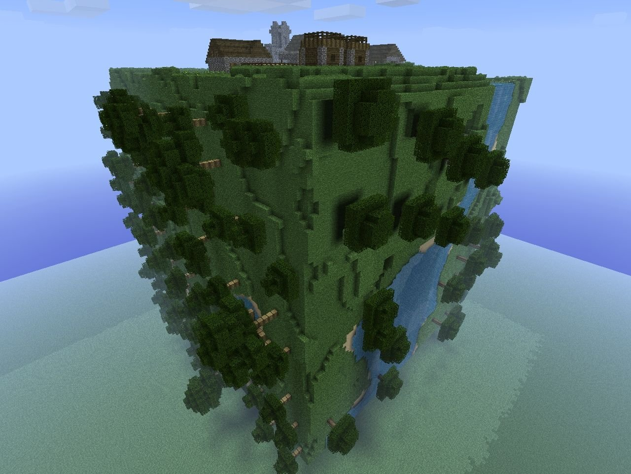 Известная в определенных кругах ролевая игра Cube World достигла стадии альфа-тестирования. Несмотря на кажущуюся ид ... - Изображение 1