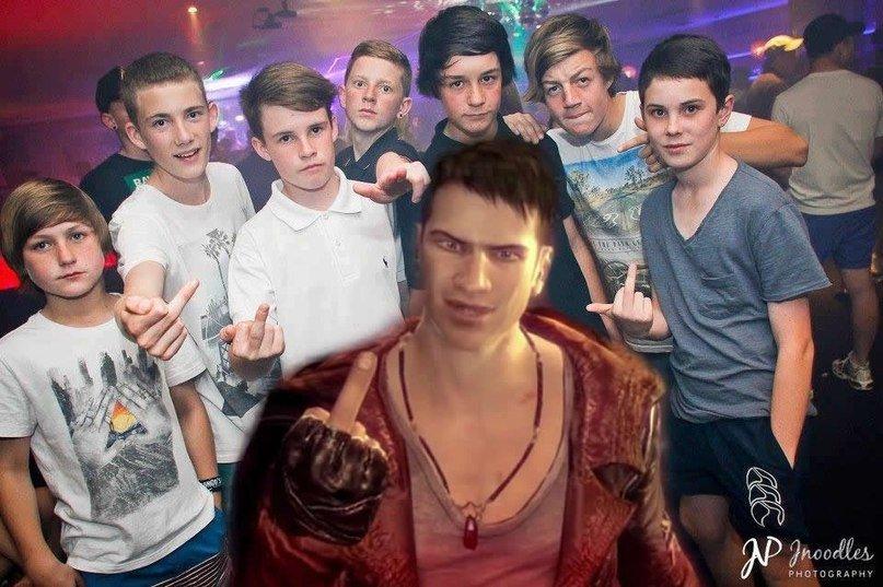 Они ходя в клуб с Данте а мы называем их школота... - Изображение 1