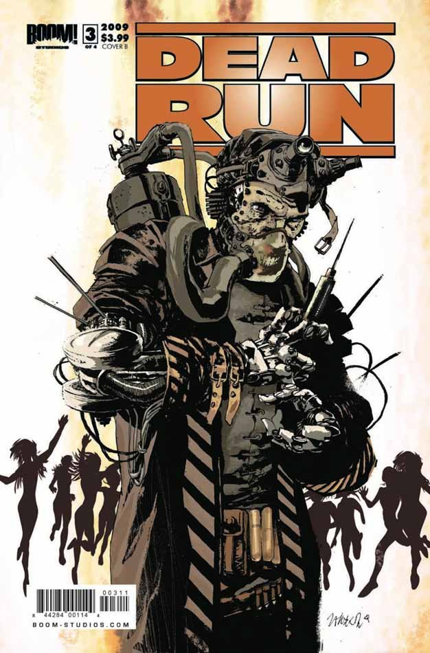 Dead Run – это небольшая серия комиксов состоящие всего из 4 выпусков, в России названная «Мертвая зона». Начнем с м ... - Изображение 2