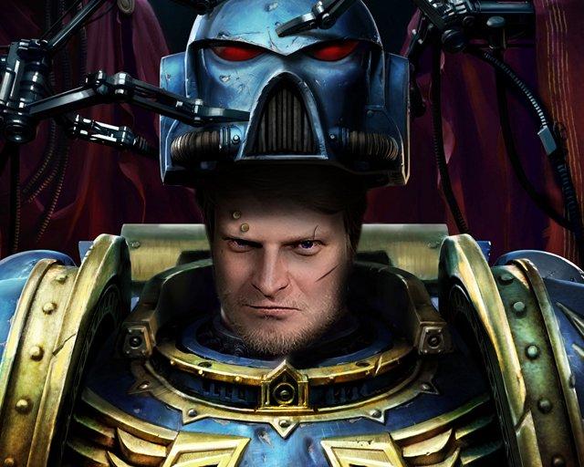 Виктор Зуев как истинный фанат вселенной Warhammer заслуживает собственной автарки в образе спейсмарина. Надеюсь пон ... - Изображение 1