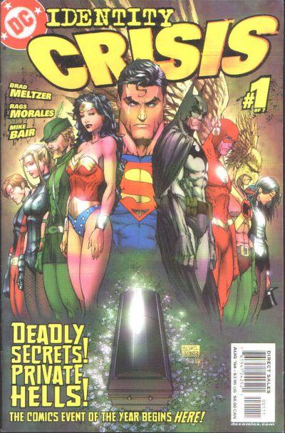 DC Comics всегда умела сделать хороший кроссовер, вот и «Identity Crisis» не стал исключением. Кризис личности — это ... - Изображение 1