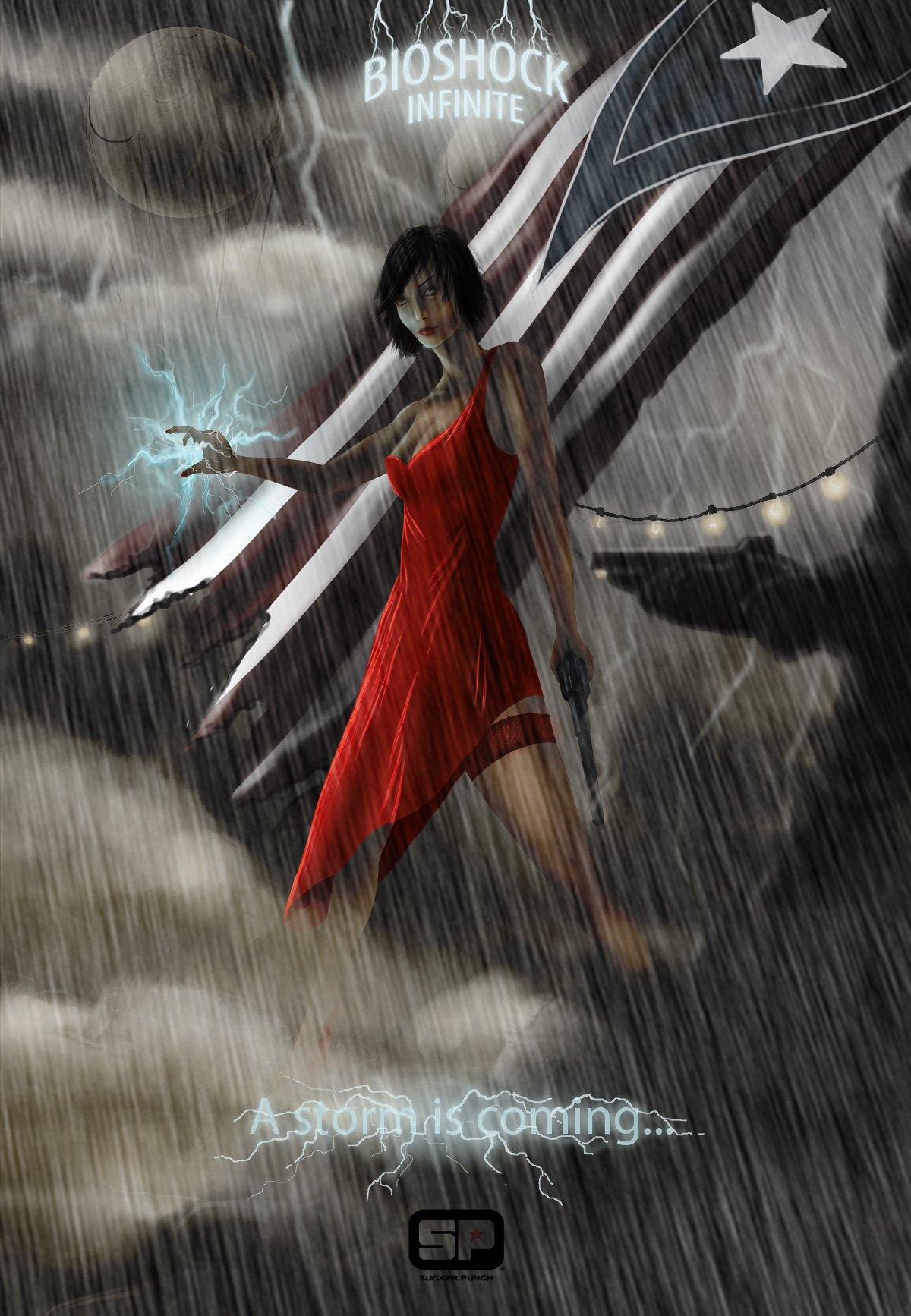 BioShock Infinite от Sucker Punch Productions.Колумбия уже четыре года находится посреди грозового атмосферного фрон ... - Изображение 1