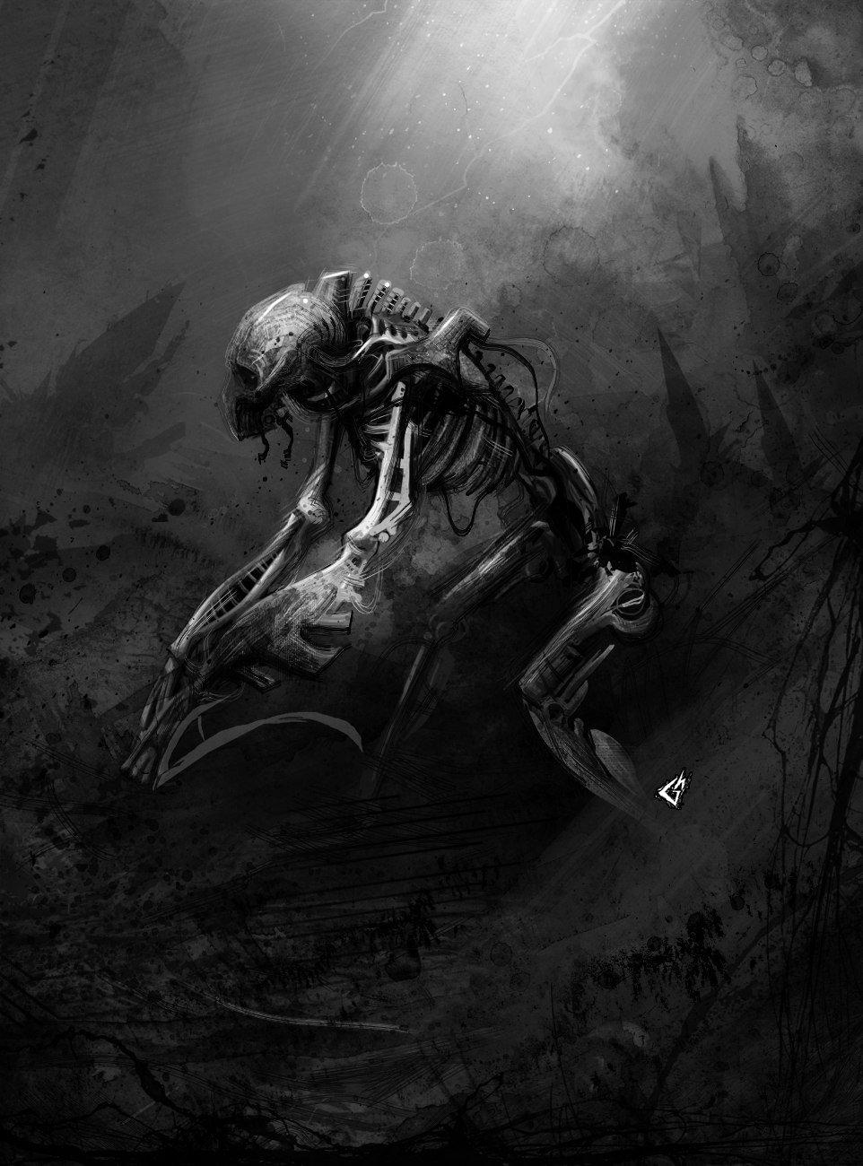 Для поклонников WARHAMMERНекроны. Часть 1.История фракции  Некронтир жили на своей планете, которая находилась под с ... - Изображение 1